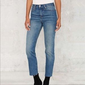 Levi Wedgie Fit icon jeans